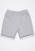 Rebel Republic - Jogger Shorts Grey