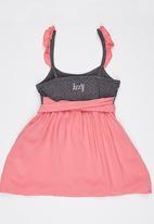 Lizzy - Lizzy  Dress Mid Pink