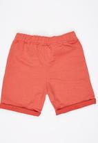 Rebel Republic - Jogger Shorts Orange
