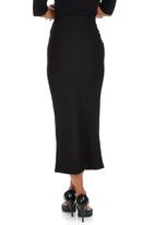 ERRE - Midi Pencil Skirt Black
