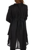 ERRE - Myri Multi Way Knit Cardigan Black