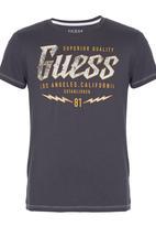 GUESS - Lighting  Tee Grey