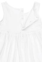 Luke & Lola - Dress with Heart Print White