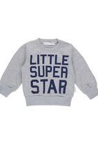 POP CANDY - Super Star Jumper Grey