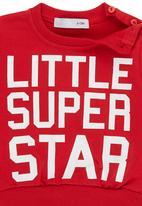 POP CANDY - Super Star Jumper Dark Red