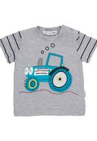 POP CANDY - Tractor T-shirt Grey