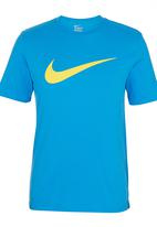 Nike - Nike Swoosh Chest T-shirt Blue