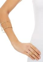 c(inch) - Cage Bangle Gold