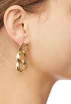 STYLE REPUBLIC - Chain Link Earrings Gold