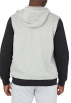 Nike - Nike Club Fleece Hoody Grey
