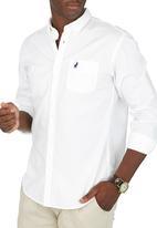 POLO - Custom fit work shirt - white