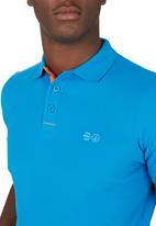 Crosshatch - Core Golfer Mid Blue