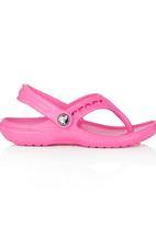 Crocs - Baya Flip Flops Dark Pink