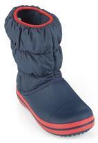 Crocs - Winter Puff Boots Sea Blue Navy