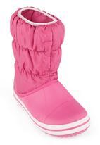 Crocs - Winter Puff Boots Bubble Gum Mid Pink