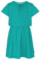 See-Saw - Short Sleeve Jersey Dress Green