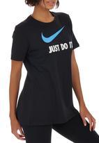 Nike - Nike Swoosh Crew Tee Black