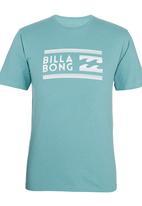 Billabong  - Fairweather CVC SS Tee Blue