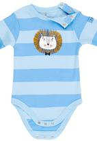 Soobe - Printed Babygrow Pale Blue