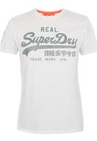 Superdry. - Vintage Logo Tee White