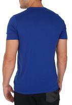 Nike - Nike Tee-Oversized Speckle Futura Mid Blue