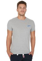 Superdry. - Orange Label Vintage Tee Grey