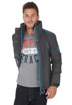 Superdry. - Wind Attacker Jacket Dark Grey