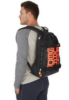 Superdry. - Super Black Backpack Grey