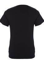POP CANDY - Motobike V-neck T-shirt Black