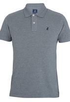 POLO - Short Sleeve Classic Golfer Grey