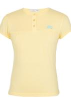 POP CANDY - Top with Front Yoke Yellow