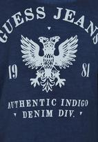 GUESS - Eagle Gunner Tee Navy