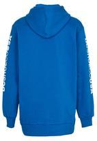 DC - Star Standard Hoody Mid Blue