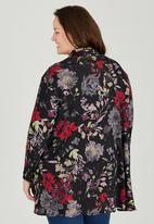 RUFF TUNG - Floral Wrap Top Multi-colour