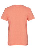 GUESS - Eagle Screen Tee Coral
