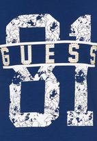 GUESS - Guess81 Active Tee Navy