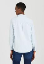 Levi's® - Workwear Boyfriend Woven Shirt Pale Blue