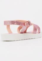 Candy's - Girls  Glitter Sandal Mid Pink