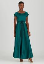 AMANDA LAIRD CHERRY - Katya Maxi Dress Dark Green