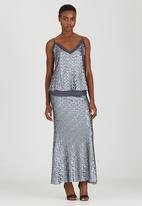 COLLEEN EITZEN - Sequin Skirt Silver