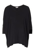 edit Maternity - Cold Shoulder T-shirt Black