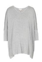 edit Maternity - Cold Shoulder T-shirt Grey