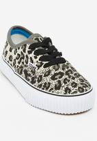 TOMY - Kids Classic Low In Charcoal Leo Grey