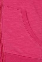 Soobe - Sweatshirt With Hoody Dark Pink