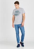 Wrangler - Inked T-Shirt Grey
