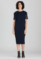 Somerset Jane - Maks Midi Dress Navy