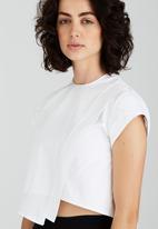 Somerset Jane - Crow Cropped Blouse White