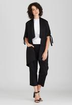 Somerset Jane - Barb Summer Blazer Black