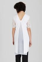 Somerset Jane - Letta Tunic White