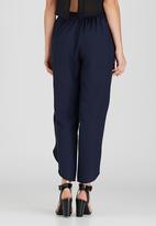 Somerset Jane - Wanda Wrap Trousers Navy